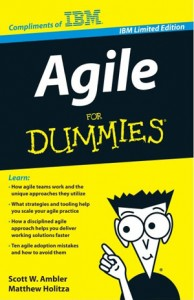 Agile for Dummies Book Cover
