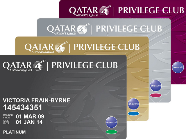 qatar-airways-privilege-club-card-stack
