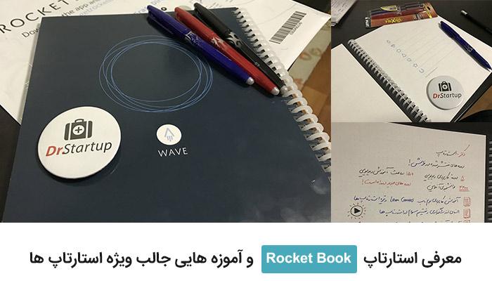 معرفی استارتاپ Rocket Book و آموزه هایی جالب ویژه استارتاپ ها